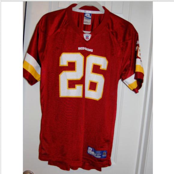 Reebok Washington Redskins Jersey Portis  26 NFL. M 5b70435c9539f77d3723dca0 164af0149